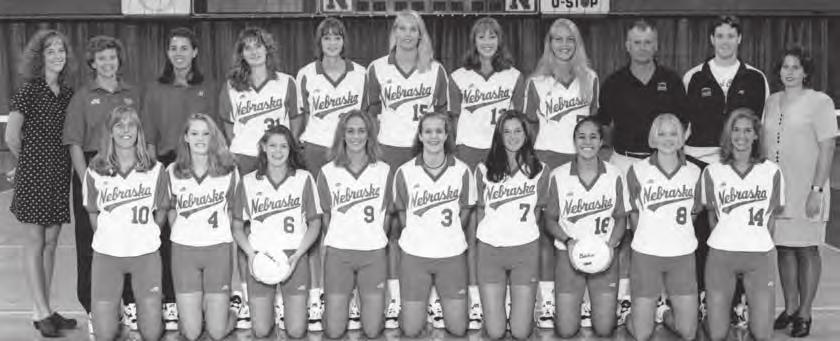 Lisa Reitsma All-Big 12 Lisa Reitsma (Player of the Year) Fiona Nepo, Megan Korver, Kate Crnich, 1996 Big 12 Champion Huskers - (Back row from left): Jen Livers, Assistant Coach Cathy Noth, Assistant