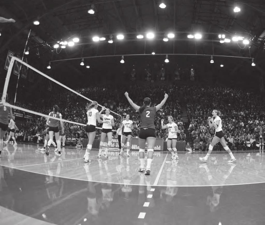THIS IS NEBRASKA VOLLEYBALL NEBRASKA COLISEUM It s