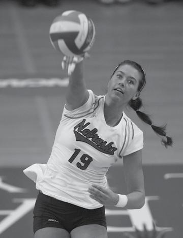 2009 INTRODUCTION Healthy Huskers Look to Contend for NCAA Title All-American outside hitter Tara Mueller ranked among the Big 12 Conference leaders in kills and points per set in 2008.