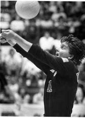 THIS IS NEBRASKA VOLLEYBALL Cathy Noth U.S. National Team Member 1998 U.