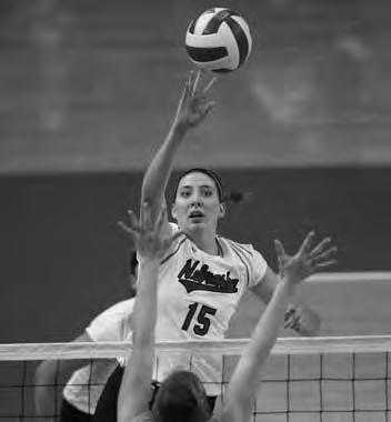 NCAA team blocking titles (2000-01-02-04-05) 7 CoSIDA Academic All-Americans 9 AVCA All-America certificates 11