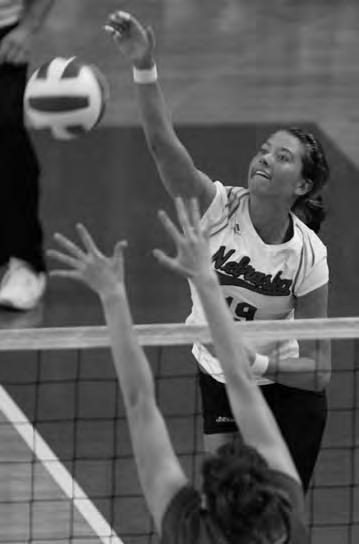 Three-Time AVCA All-American 1996 Big 12 Player of the Year Three-Time all-conference selection