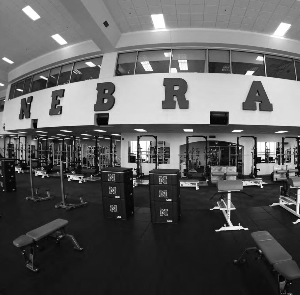 THIS IS NEBRASKA VOLLEYBALL HUSKER POWER The University of Nebraska strength and development program is the model