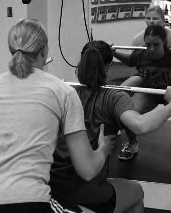 A former All-American volleyball player, Buttermore understands how to develop a strength and conditioning program for elite volleyball players.