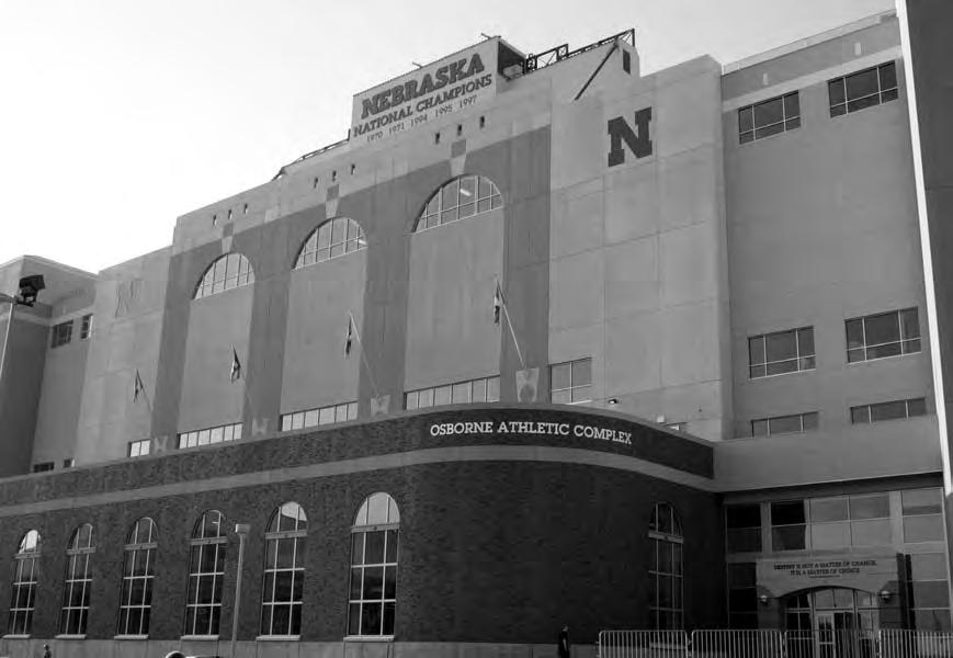 Nebraska is dedicated to providing its athletes top-notch game-day and practice atmospheres in every sport.