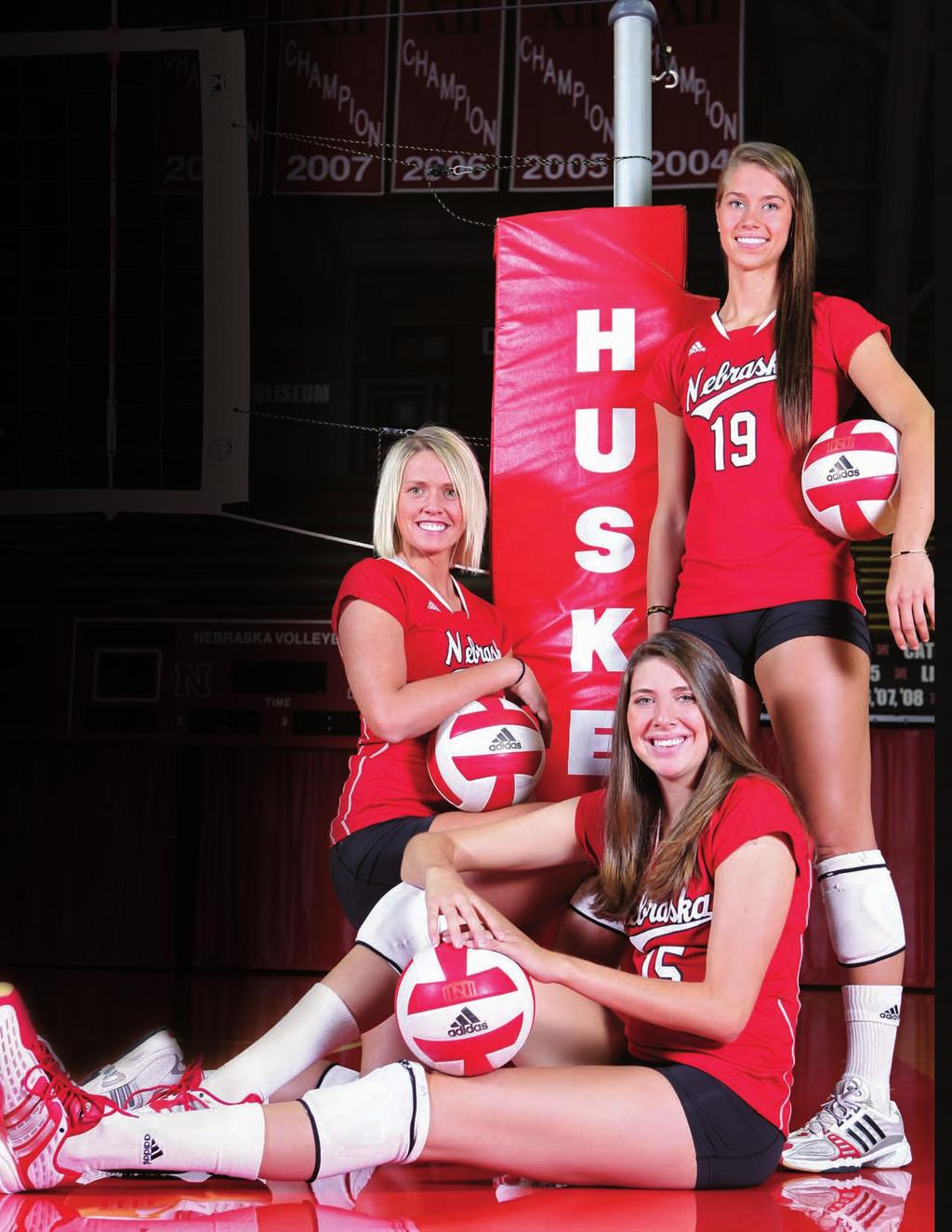 2009 Schedule Runza/AVCA Showcase Fri., Aug. 28 vs. Michigan Qwest Center Omaha 8:30 p.m. Sat., Aug. 29 vs. Minnesota Qwest Center Omaha 8:30 p.m. Tues., Sept. 1 Creighton NU Coliseum 7 p.m. LSU Tournament Fri.