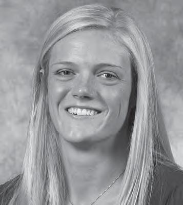 2009 PLAYERS JORDAN WILBERGER #6 6-1 Sophomore Middle Blocker Scottsbluff, Neb.