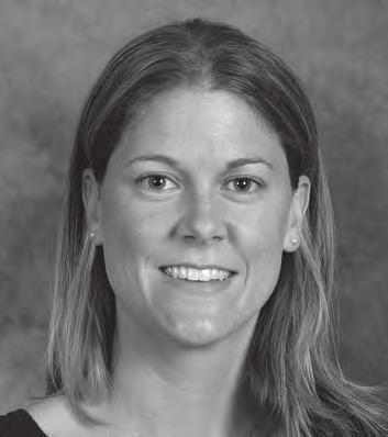 COACHES AND ADMINISTRATION LIZZY STEMKE Assistant Coach Third Season Wisconsin (2004) Coaching Ledger Seasons at Nebraska Assistant Coach, 2007-present Other Coaching Experience Assistant Coach: