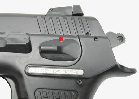 "The pistol is designed to and will FIRE when the trigger is pulled and the safety mechanism is in the ""off"" or ""fire"" position."