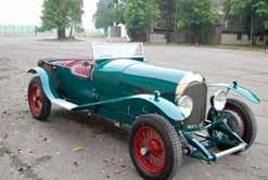 1928 Lightweight Bentley 3/4½. Late Hamish Morten s 3/4½; is now being sold.