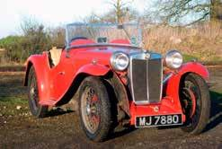 1934 MG PA. Reg MJ 7880, Chassis No PA2017. Fitted with twin-carb BMC A-Series engine years ago. Good running car, in family for 33 years.