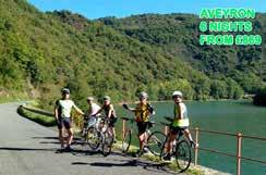 Aveyron 6 nights from 869 Self Guided / 7 nights from 1199 Guided.