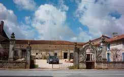 Restored farmhouse with dry barns, workshop etc. Nonac, 16190, Charente. Ideal for Circuit des Remparts. In small village opposite the church and an excellent restaurant.
