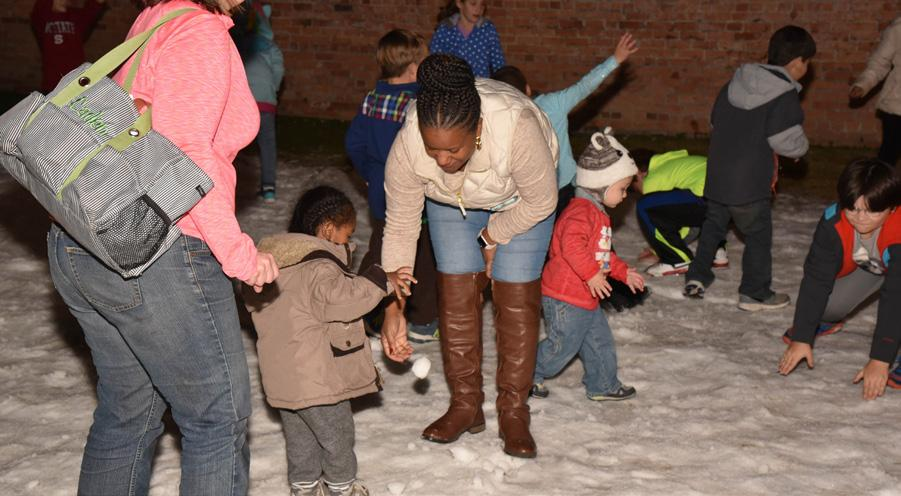 WINTER WONDERLAND AT THE IMPERIAL CENTER EASTER EGGSTRAVAGANZA Benefits: