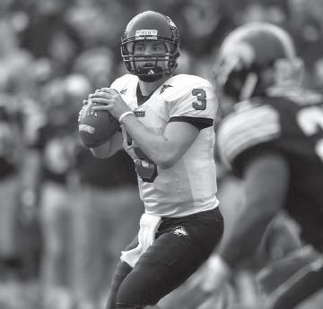 Individual records Highest Completion Percentage Game (min. 20 comp.):.818 (27-for-33), Chandler Harnish vs. Kansas (9-10-11) Season (min. 100 comp.):.706 (168-for-238), Phil Horvath (2005) Career (min.