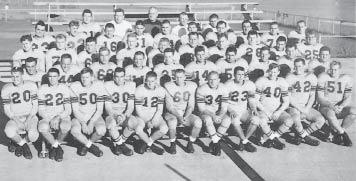 Those 1951 Huskies one of only four undefeated, untied teams in the school s football history went 9-0-0, captured the Interstate Intercollegiate Athletic Association title, and outscored the