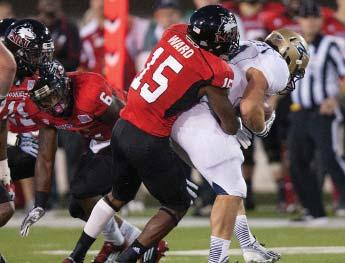 NORTHERN ILLINOIS UNIVERSITY FOOTBALL HISTORY Jimmie Ward collected first team All-American honors from Sports Illustrated in 2013, in addition to third and fourth team recognition from the
