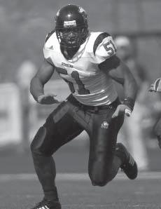 NORTHERN ILLINOIS UNIVERSITY FOOTBALL HISTORY mac honors In 2008, Larry English became the first defensive player and fourth player all-time to win the Vern Smith Award in consecutive years.