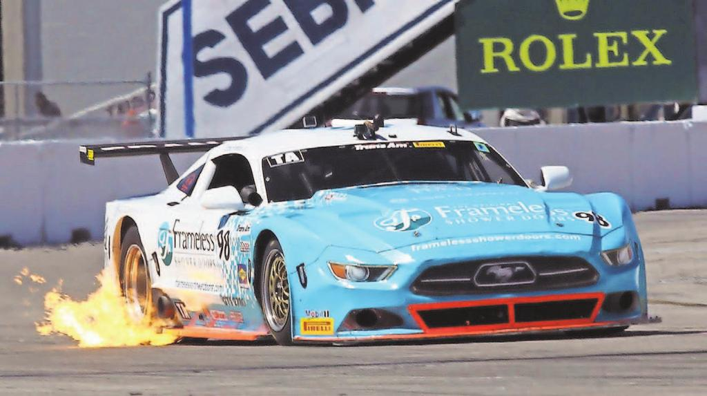 he fir TA2 Tran Am Serie preened by Pirelli race of he eaon a Sebring Inernaional Raceway on Sunday, a he hree-day Sporcar Vinage Racing Aociaion/Tran Am weekend came o a cloe.
