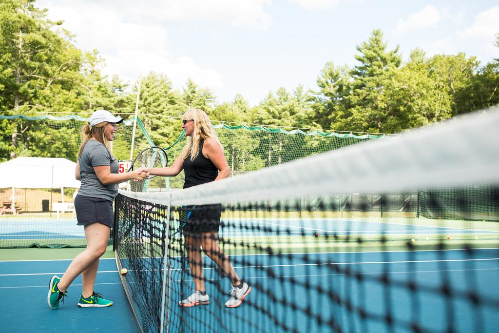 Adult Tennis Tennis University 22 exciting and dynamic instructional clinics are offered each week as part of Tennis University.