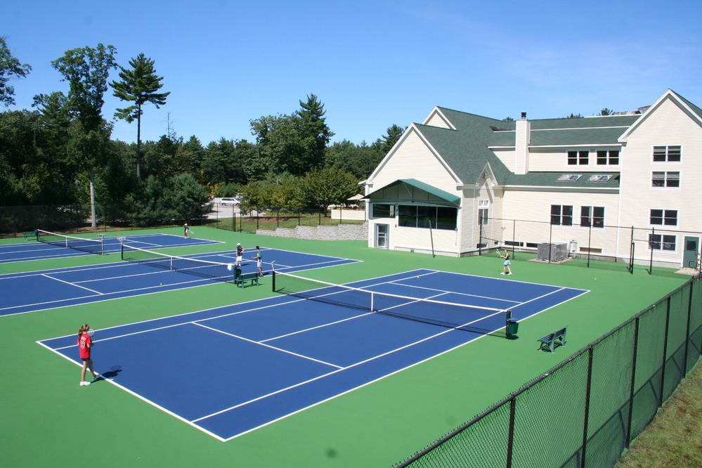 weekly tennis matches with NO court fees!