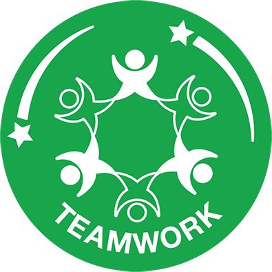 Teamwork Treat everyone equally, support each other and work together to have fun and achieve. Celebrate each other s success.