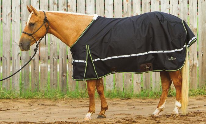 People always ask me, What temperature does this blanket go to? she says. But you cannot really just go by that in selecting a blanket for your horse or a coat for yourself.