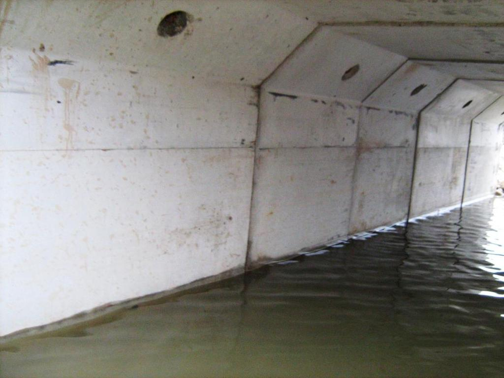 20. General condition of East Culvert;