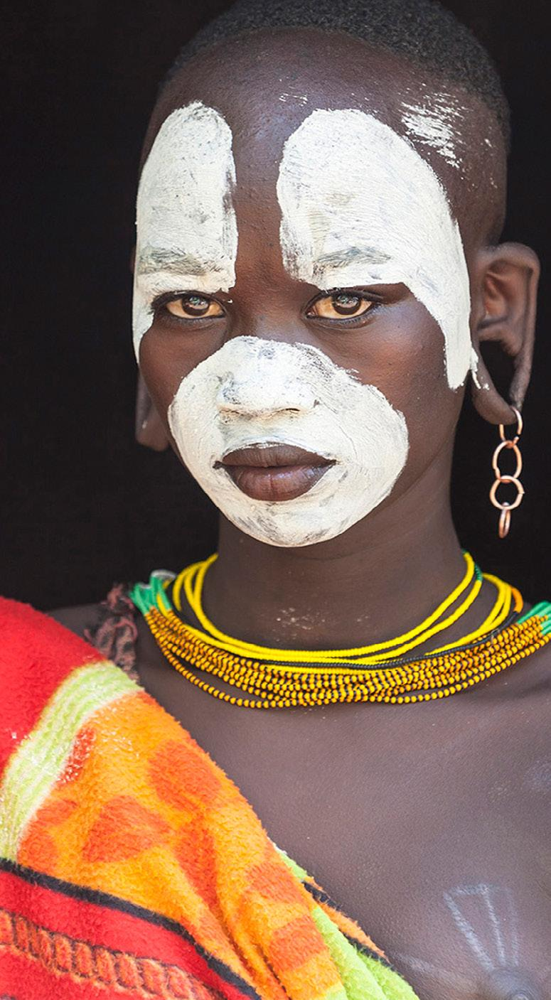 THE TRIBES OF THE OMO VALLEY For millennia, the Omo Valley has been inhabited by a kaleidoscopic variety of ethnic groups having rich and distinctive cultural identities.