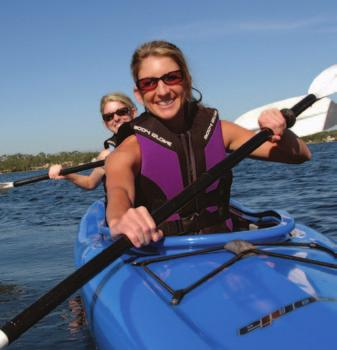 Individual in Recreational Boating Activities People participate in boating in many ways. Socializing (reported by 75.