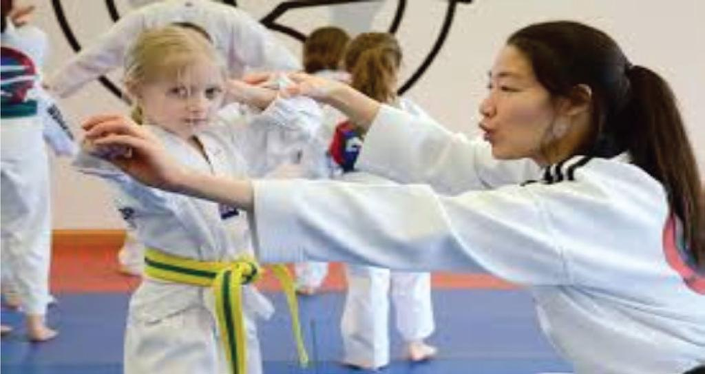 Once a child has found the martial art that they love, as well as learning self defence, kicks and throws, they are also learning a way of life.