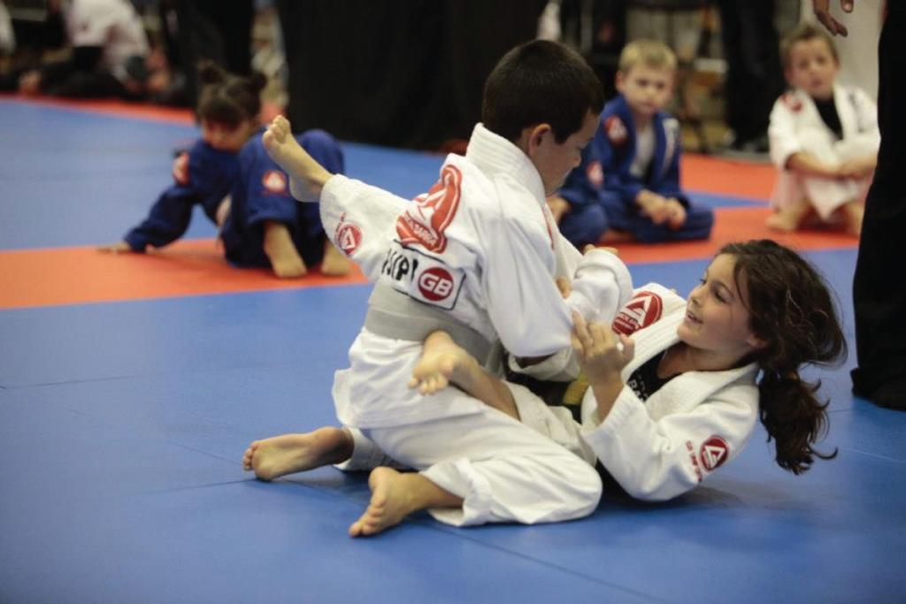 Brazilian Jiu Jitsu is a modern martial art, however it is derived from the traditional Japanese practice of Jiu Jitsu. This art takes place on the ground - it s all about wrestling.