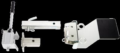 PCA-1271 Self-blocking pulley with aluminium side plates.