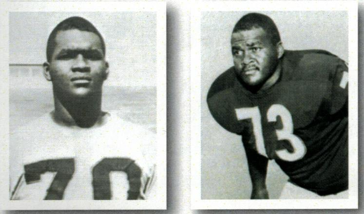 Drafted in the 16th round, he played for both Cleveland and Minnesota between the 1960-65 NFL seasons, a stint that included the Viking s inaugural campaign.
