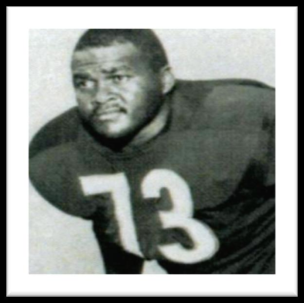 Frank Cornish A two-way player for Eddie Robinson, Cornish earned first-team all-swac honors at offensive tackle in 1965 as Grambling claimed the league crown.