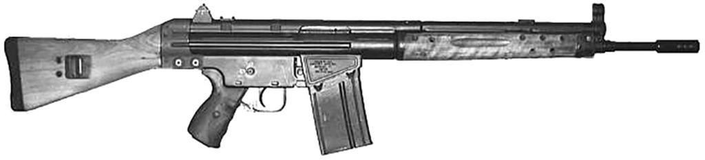 00 SPANISH CETME MODEL (C) RIFLE PARTS SET Collaboration between German engineers and Franco s Spanish designers drove Spain to adopt the (C) version of the CETME rifle in 1974.
