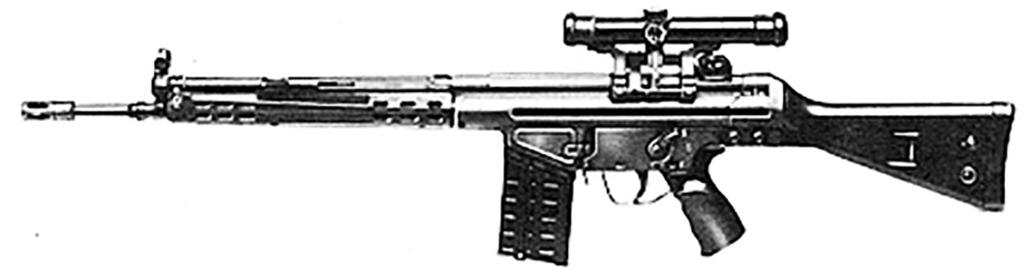 The German G-3 and the CETME are close cousins and share many of the same parts. In fact, 25 parts from the CETME and G-3 / HK91, are interchangeable with one another.