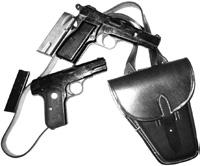 Luger Hardshell holster with WW2 `SS pistol belt.w/ embossed SS belt buckle... $38.00 HOL066 O. L. M. N. P.
