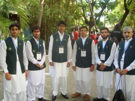 Waqar Ali Syed Bronze Medal Following were the students of NMTC08 who qualified for the 53 rd Mathematics Olympiads 2012 which was