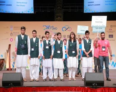 Following were the six students of NMTC10 who qualified for the 55 th Mathematics Olympiads 2014 which was held in Cape Town, South Africa.