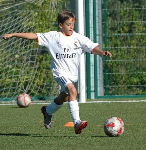 soccer club. Goals of the training sessions: Advanced individual technical and tactical training.
