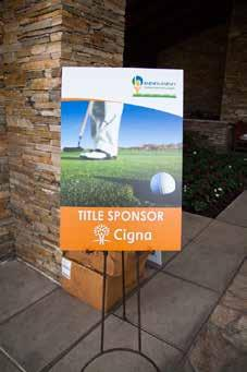 Title Sponsor $25,000 (exclusive) 16 player spots Company name aligned with event title on all marketing, PR and advertising Extensive signage at event Tournament host Speaking Opportunity at Awards