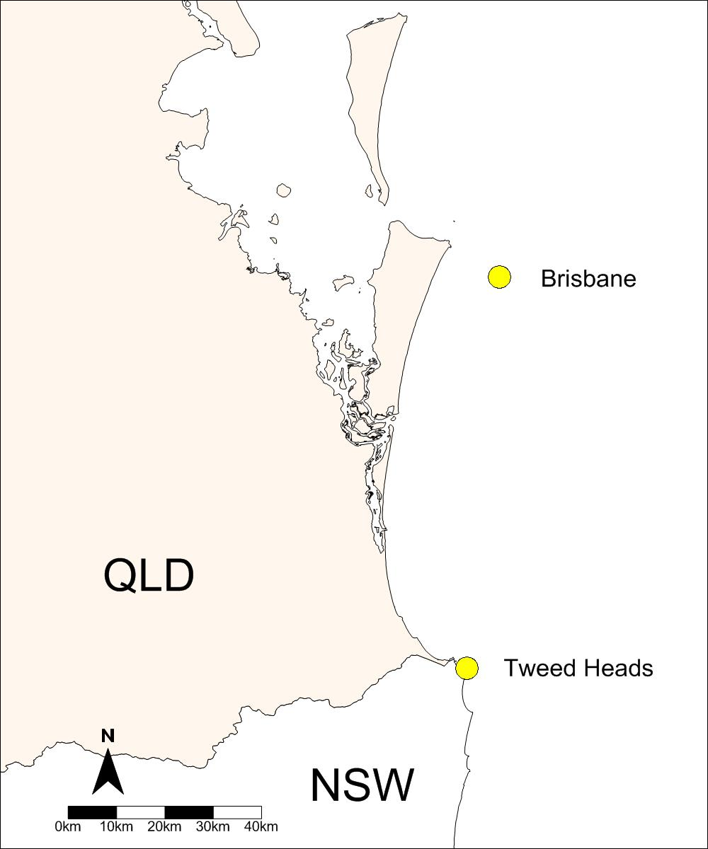 1. Introduction This summary of wave climate from the Tweed Heads and Brisbane wave sites is one of a series of technical wave reports prepared annually by the Coastal Impacts Unit of the Department