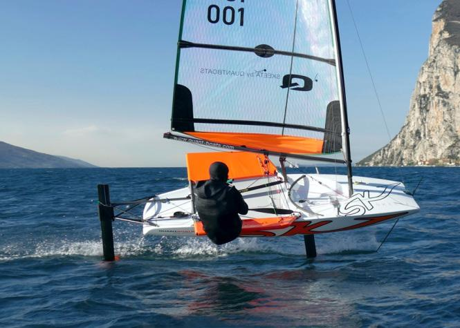 Clip This way you will take the first steps in your foiling career successfully.