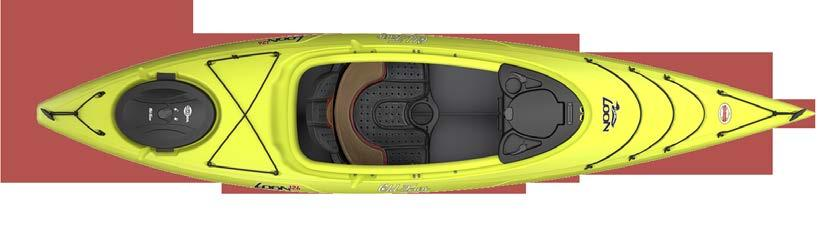 5 kg COLOURS LOON 126 M/L TWIN HERON DIRIGO 155T An advanced recreational kayak that features a removable