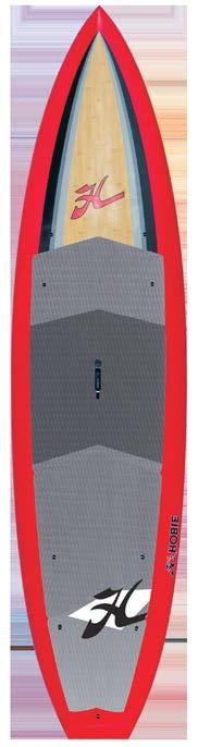 seperately For entry level to intermediate paddlers Designed for performance, stability and durability A great board for demo and rental fleets