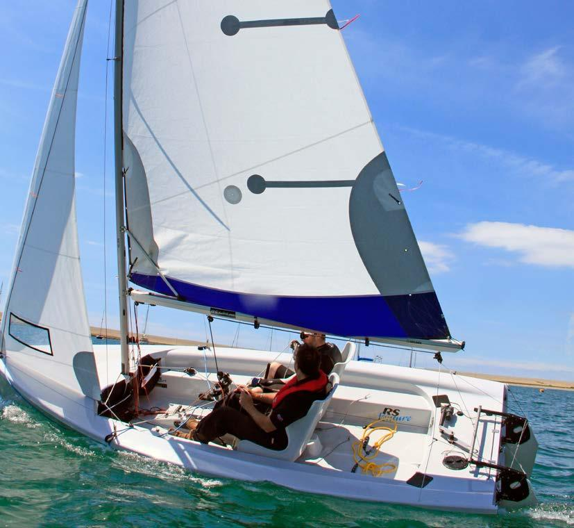 RS SAILING RS Venture Connect with adaptive sailing shown Venture Length: Beam: Sail Area: Main + Jib: Optional spinnaker choices Asymmetric