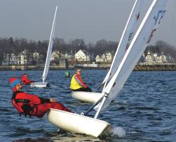 Expressly for Fun Goes National Helping to build up the grass roots of sailing Huguenot Yacht Club s premier regatta is going national.
