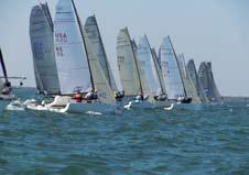 National Championship, hosted by Coconut Grove Sailing Club (CGSC), saw Michael Kiss on Bacio, along with crew consisting of tactician Chris Rast and Jamie Kimball as winners.