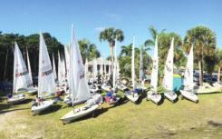 Regatta Reports First Trip to Laser Masters Week BY JON DEUTSCH There aren t many things to look forward to in getting old but Laser Masters sailing is definitely one of them.
